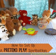 How to Set Up a Pretend Play Invitation