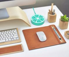 Add some zest to your desk with the Fruit Power Strip by Trozk, thee world's first winding power strip.
