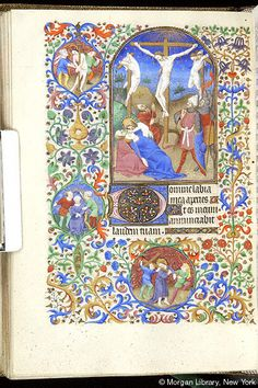 Book of Hours, MS M.453 fol. 117v - Images from Medieval and Renaissance Manuscripts - The Morgan Library & Museum