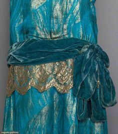 Dress (image 4) | 1920s | silk satin, brocade | Augusta Auctions | April 9…