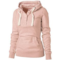 Haven Hoody ($46) ❤ liked on Polyvore featuring tops, hoodies, sweatshirts, jackets, sweaters, women, pink sweatshirt, cotton hooded sweatshirt, pink hoodie and hooded sweatshirt