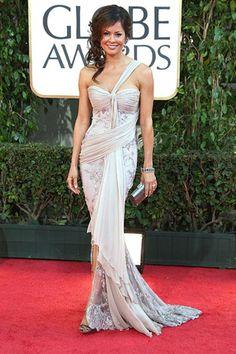 Brooke Burke at the Golden Globe Awards 2009