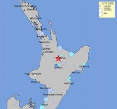 6.3 magnitude earthquake strikes North Island of New Zealand