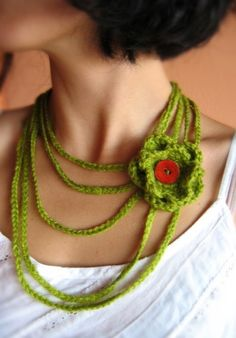 MariesCorner has some great crochet jewelry on Etsy.