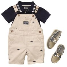 Polo Power | Baby Boy Shop The Look. By Osh Kosh. Love this outfit!!! Those shoes!!!