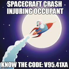 ICD-10 Spacecraft Injury