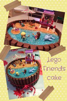 Lego friends birthdaycake