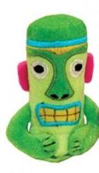 Green Tiki Plush Toy