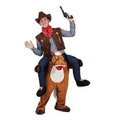 Carry Me® Horse Adult Costume One Size: Amazon.co.uk: Toys U0026 Games