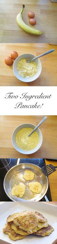Two Ingredient Pancake