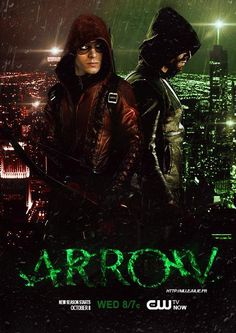 Arrow and Speedy/Arsenal (not sure which one they're going to call Roy).