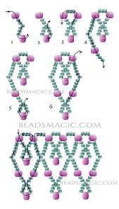 Resultado de imagen para bead pattern necklace