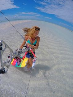 #picoftheday Charlotte Consorti slumming it in Murrebue, Mozambique #kitespots #kitetravel - ActionTripGuru.com