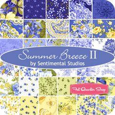 Summer Breeze II Fat Eighth Bundle Sentimental Studios for Moda Fabrics - Fat Quarter Shop