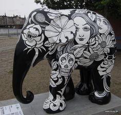 Elephant Parade Copenhagen sommer 2011