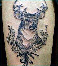 20 Inspiring Deer Tattoo Designs