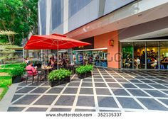 Find fast food restaurant exterior stock images in HD and millions of other royalty-free stock photos, illustrations and vectors in the Shutterstock collection. Thousands of new, high-quality pictures added every day. Mcdonald's Restaurant, Restaurant Exterior, Fast Food Restaurant, Mcdonalds, Singapore, Vectors, Royalty Free Stock Photos, Lavender, Behance