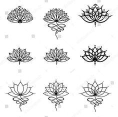 70 Melhores Imagens De Desenhos De Flores De Lótus Em 2019