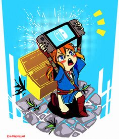 I really just want to hold the Nintendo Switch. Just hold it.