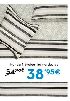 Funda Nòrdica Trama. Rebajas en www.lamallorquina.es