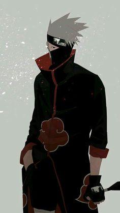 Well sometimes i think what if kakashi was in akatsuki .maybe naruto have died long ago or it is po Kakashi Hokage, Naruto Uzumaki Shippuden, Sasuke Uchiha, Anime Naruto, Sakura Anime, Kurama Naruto, Naruto Fan Art, Kakashi Sensei, Wallpaper Naruto Shippuden