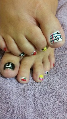 sheree's school toes