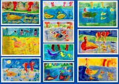 schilderles met leerlingen uit groep 2 t/m 5