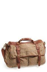 Rawlings® Cotton & Linen Duffel Bag
