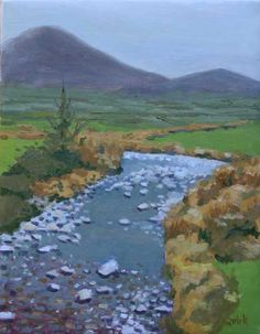 IRISH ART Paintings of Ireland By Artist Theresa M. Quirk, Landscapes for Sale, Online Irish Art Gallery, Original Oil and watercolor paintings