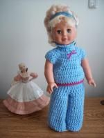 "Song Sung Blue - 18"" doll; Image intense - Free Original Patterns - Crochetville"