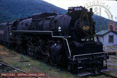 VGN Class BA 507 at Roanoke