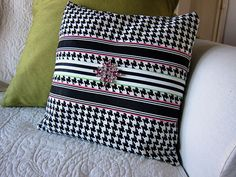 I have made plenty of pillow covers but recently found a super simple way to make the process even easier than even I ever thought. See the DIY here