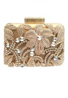 bf8f7aeb0 14 melhores imagens de Gold clutch   Gold clutch, Vintage handbags e ...