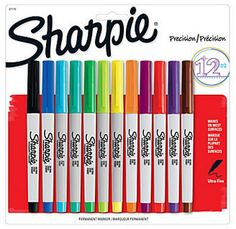 Sharpie Markers 12-Count Packs 50% Off - Only $4.14!