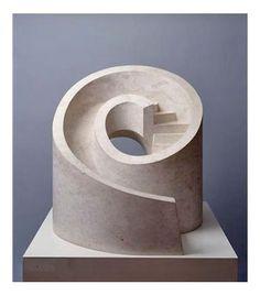 b22-design:Isamu Noguchi - 'Slide Mantra' - botticino marble - 1966