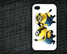 Minion iPhone case collection on Etsy