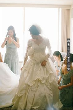 Custom Shin Bu dress | CHECK OUT MORE IDEAS AT WEDDINGPINS.NET | #bridesmaids