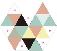 Como fazer porta-treco geométrico de papel