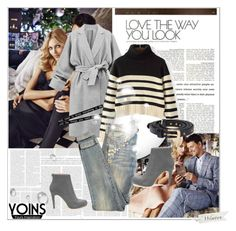"""""""Yoins 21"""" by leilathunder ❤ liked on Polyvore featuring Anja, Current/Elliott, yoins and yoinscollection"""