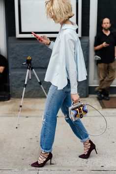 The Best Bags of NYFW Spring 2016 Street Style – Day 4: PurseBlog waysify