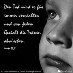 Nachzulesen auf BibleServer | Jesaja 25,8