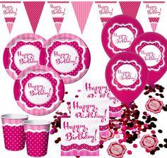 Mottoparty deko on pinterest deko dekoration and parties for Pappgeschirr set