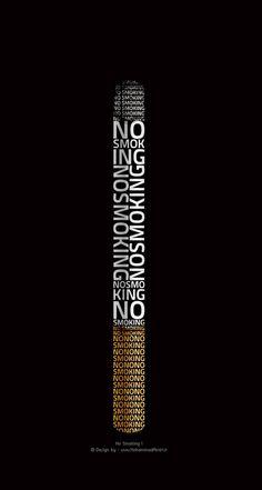 Necesidad de Comunicación. Diseño Gráfico. Esta imagen es un resumen del daño que causa el cigarrillo.