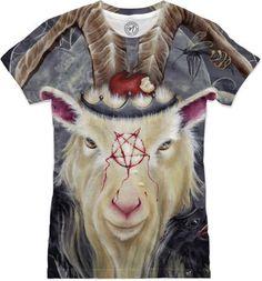 Goats go to Hell Women's T-Shirts by Kristen Ferrell   Nuvango