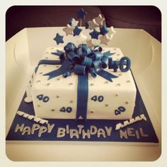 Elegant Picture of Birthday Cakes For Men . Birthday Cakes For Men Birthday Cake 40th Birthday Cakes For Men, Square Birthday Cake, 40th Cake, Cupcake Birthday Cake, Birthday Cake Decorating, 40 Birthday, Fruit Birthday, Torta Angel, Birthday Cake Pinterest