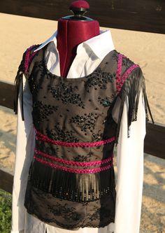 Custom made Western Pleasure Vest 2013.  Sittin Pretty Show Clothing on FB!