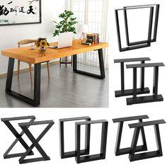 Metal Work Table, Metal Leg Dining Table, Wood And Metal Table, Kitchen Table Legs, Diy Table Legs, Steel Table Legs, Wooden Dining Tables, Dinning Table, Rustic Table