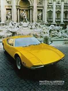 1972 Pantera by DeTomaso