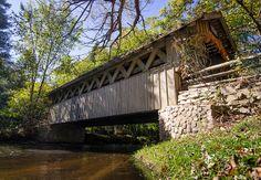 Covered Bridge Wisconsin | Covered Bridge ~ Waupaca, WI | Flickr - Photo Sharing!