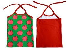 Free pattern: Toddler girl's halter top singlet